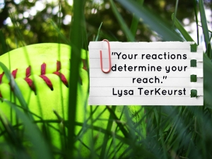 Reaction determines reach