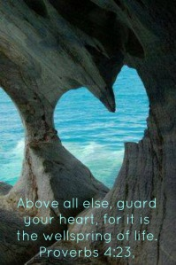 Guard Your Heart! (There's a treasure in there!)