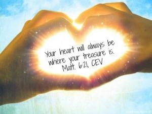 matt 6 21 heart