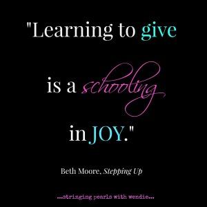 schooling in joy