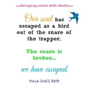 psalm 124-7