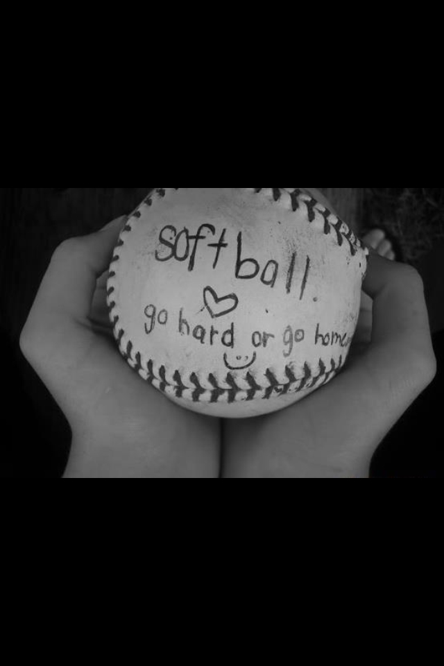 writing on softball