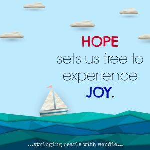 hope sets us free