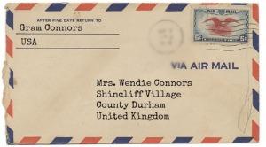 Letter from Gram
