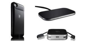 Duracell-Powermat-Wireless-Cherger-For-iPhone-4-4S-Black-Power-backup-Battery-USB-Cable