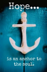 Hope Anchor to Soul