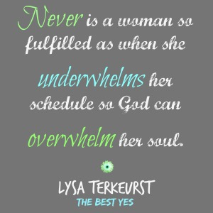 Overwhelm soul