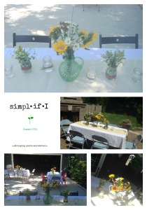 Dinner Collage Tables