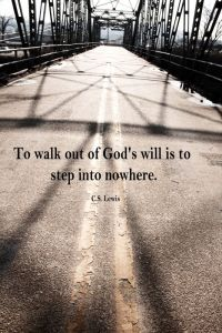 walk out of gods will cs lewis