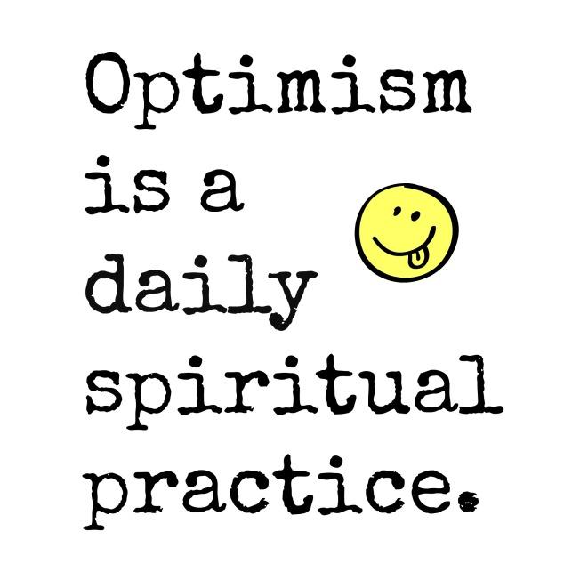 pendant optimism