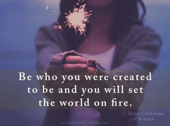 be who you were created to be