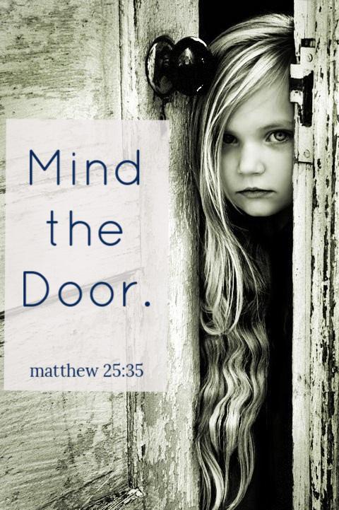 mind the door
