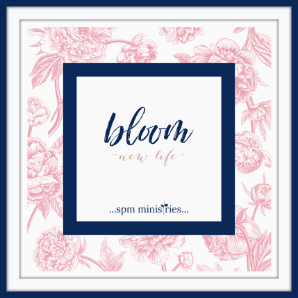 Bloom logo with frame
