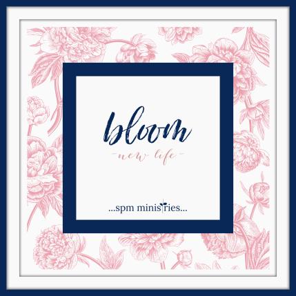 Bloom logo with frame